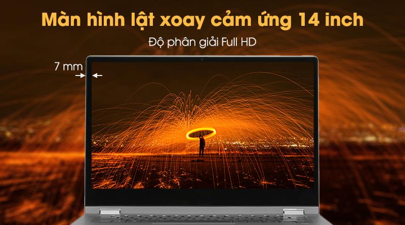 Lenovo IdeaPad C340 cho hình ảnh sắc nét, đẹp mắt.