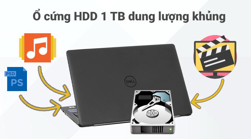 Laptop Dell Vostro 3590 (GRMGK1) lưu được nhiều dữ liệu