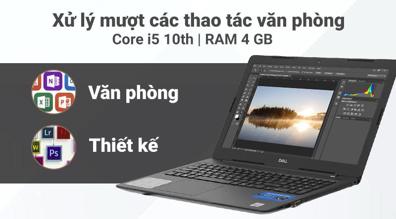 Laptop Dell Vostro 3590 (GRMGK1) chạy được các ứng dụng đồ họa