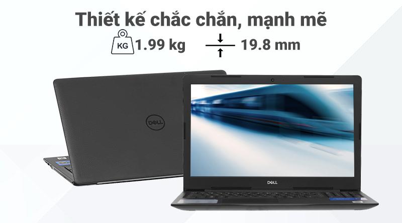 Laptop Dell Vostro 3590 (GRMGK1) thiết kế chắc chắn