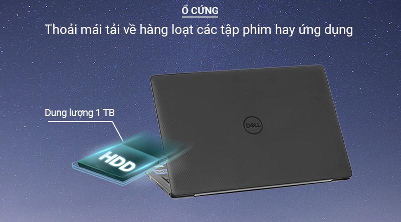 Thả ga lưu trữ dữ liệu với Laptop Dell Vostro 3590