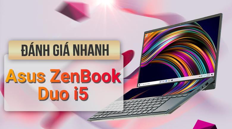 Asus ZenBook Duo UX481F i5 10210U/8GB/512GB/2GB MX250/Pen/Túi/Win10 (BM048T)