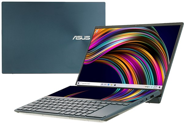 Laptop Asus ZenBook Duo UX481F i5 10210U/8GB/512GB/2GB MX250/Pen/Túi/Win10 (BM048T)