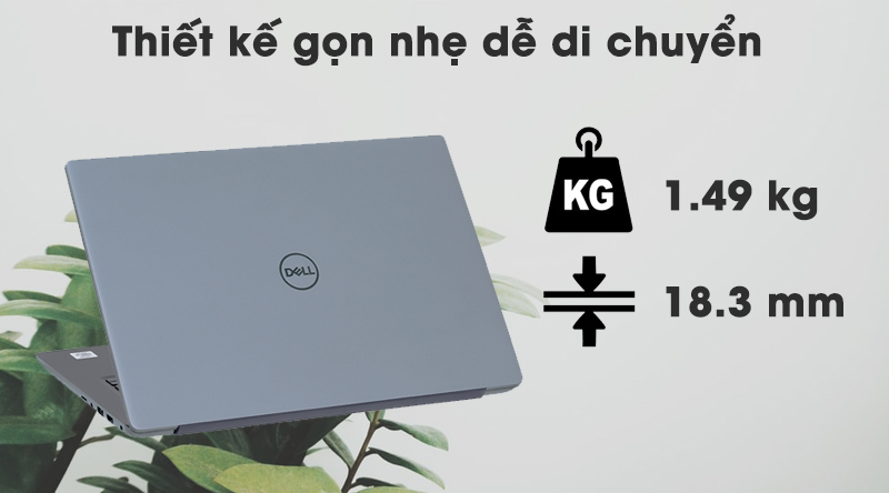 Laptop Dell Vostro 5490 i5 thiết kế gọn nhẹ