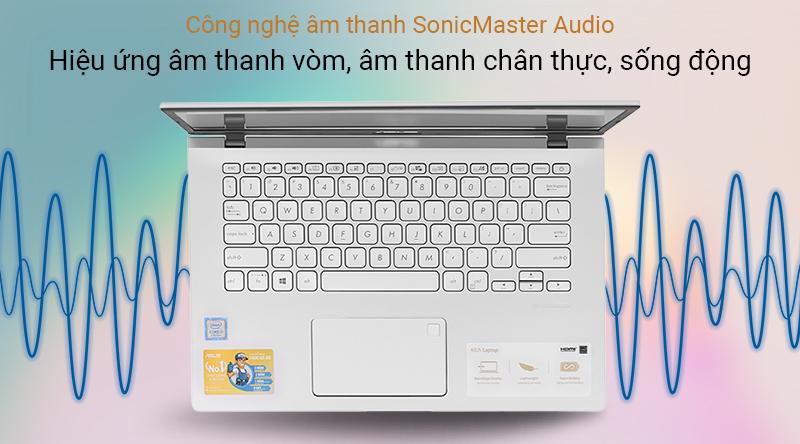 Máy tính được trang bị công nghệ âm thanh SonicMaster