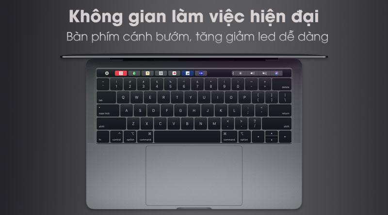 Laptop Apple Macbook Pro Touch 2019 với bàn phím thông minh