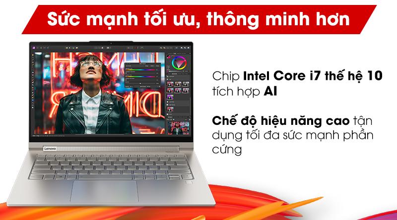 Laptop sử dụng bộ vi xử lí mới nhất đến từ Intel - Core i7 thế hệ 10