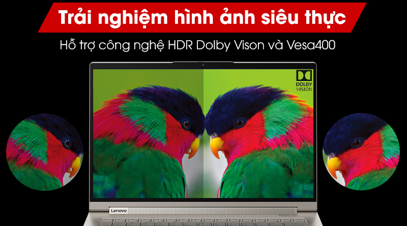 Hỗ trợ công nghệ hình ảnh HDR VESA400