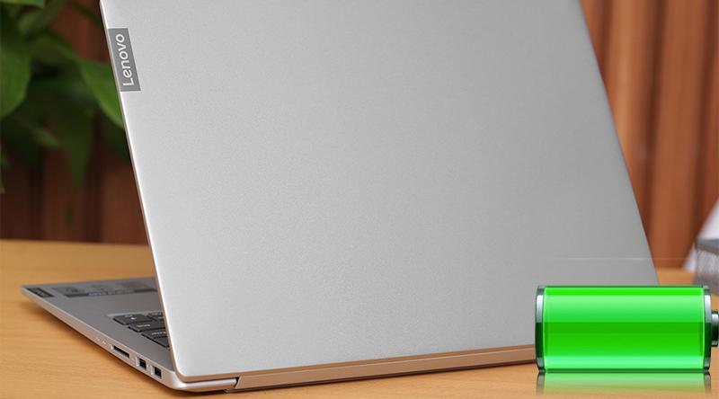 Laptop Lenovo IdeaPad S340 14IIL i5 thời lượng pin ấn tượng