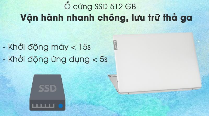 Laptop Lenovo IdeaPad S340 14IIL i5  (81VV003SVN) - ổ cứng