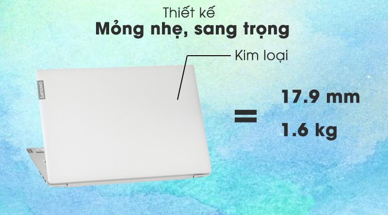 Laptop Lenovo IdeaPad S340 14IIL i5  (81VV003SVN) - thiết kế
