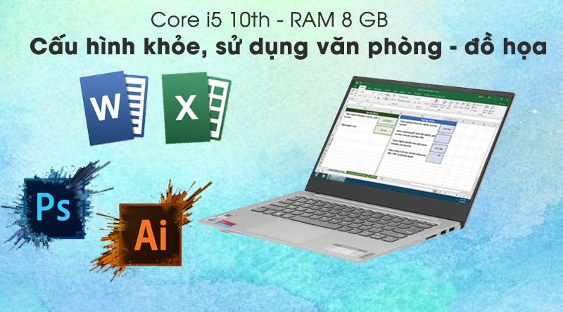 Review laptop Lenovo IdeaPad S340 14IIL i5 1035G1/8GB/512GB/Win10 - Cấu hình & hiệu năng