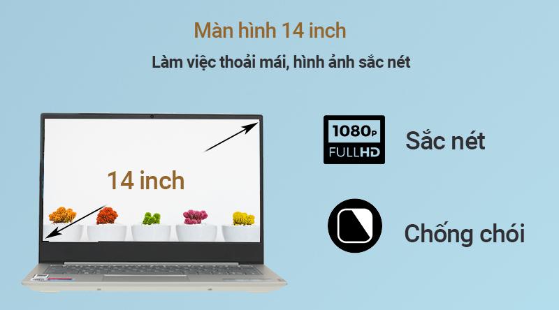 Lenovo IdeaPad S340 14IIL có màn hình 14 inch chân thực, sắc nét