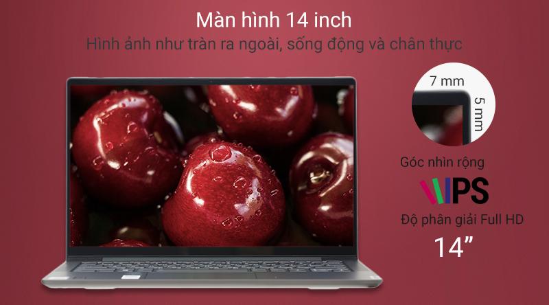 Laptop Lenovo Yoga S740 14IIL với các viền màn hình cực mỏng, màn hình rộng 14 inch, độ phân giải Full HD