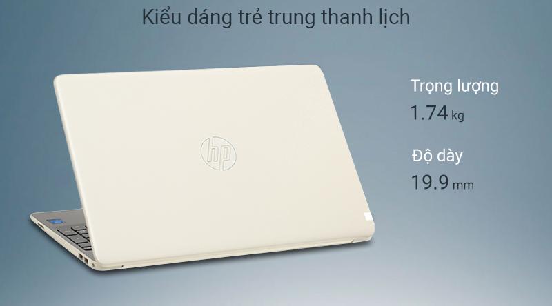 Laptop HP 15s kiểu dáng gọn nhẹ