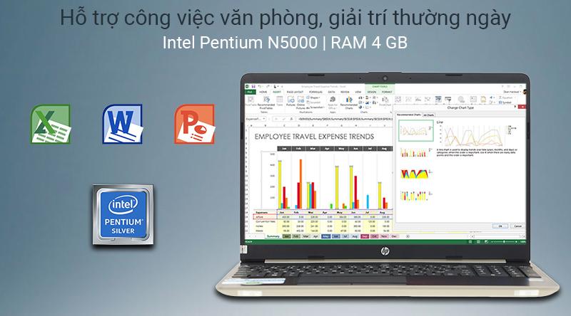 Laptop HP 15s cấu hình văn phòng