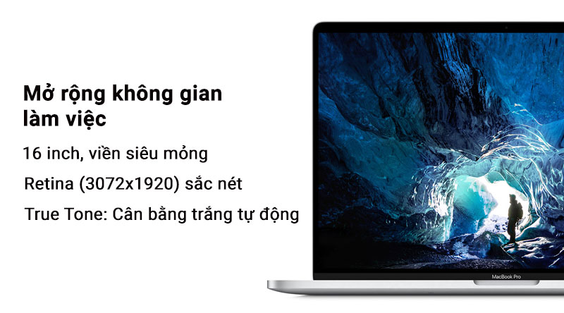Laptop Macbook Pro Touch 2019 i7 với màng hình Retina tuỵet đẹp