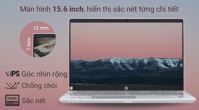 Laptop HP Pavilion 15 cho mọi thước phim rõ ràng, sắc nét, màu sắc chân thật.