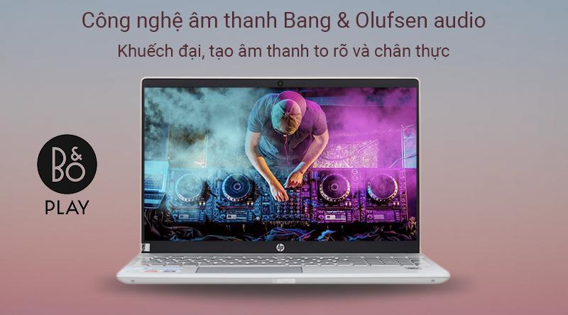 Laptop HP Pavilion 15 cs3014TU đem đến những âm thanh to, lọc tiếng ồn hiệu quả