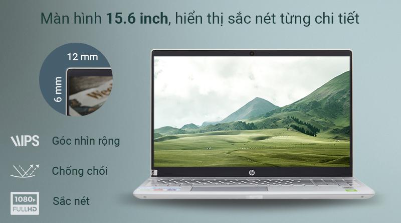 Màn hình laptop HP Pavilion 15.6 inch với độ phân giải Full HD