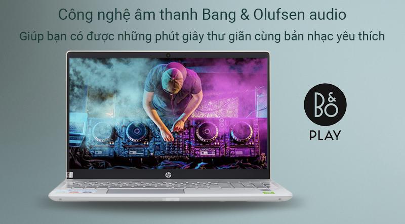 Công nghệ âm thanh Bang & Olufsen audio của máy tính sẽ giúp bạn có những phút giây thư giãn