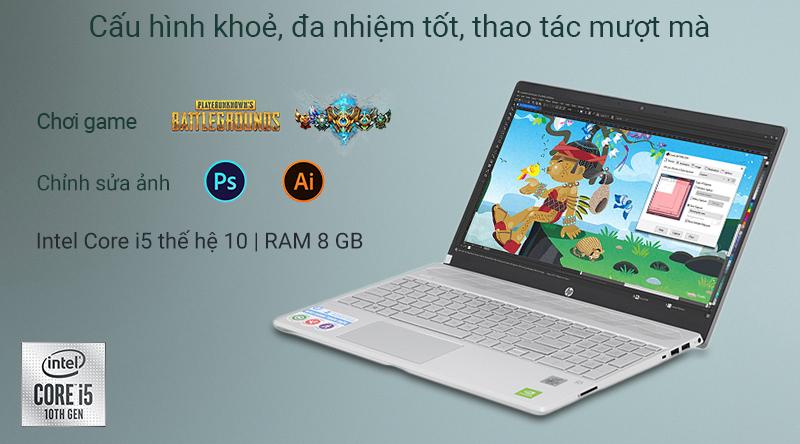 Laptop HP Pavilion 15 cs3061TX là mẫu laptop dành cho sinh viên, nhân viên văn phòng