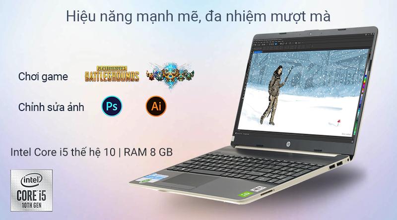 Laptop HP Pavilion trang bị chip xử lý mạnh mẽ