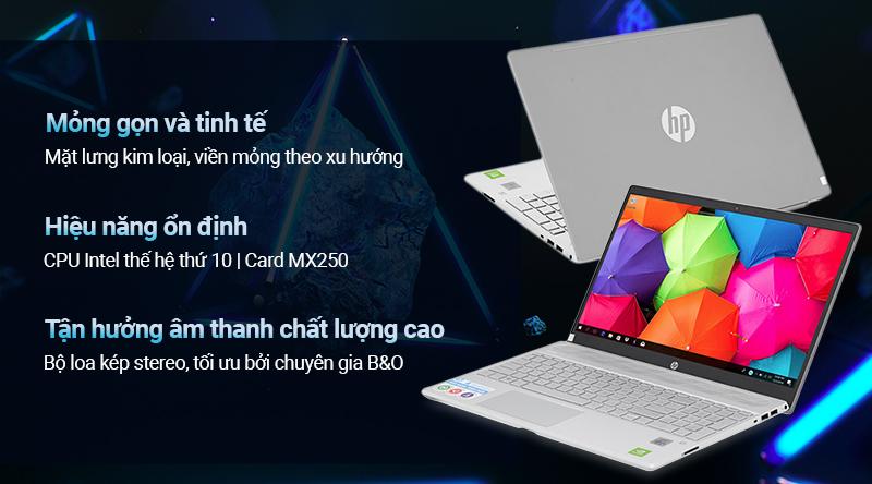 HP Pavilion 15-cs3119TX: i5 1035G1/SSD 256G/15in FHD/MX250, còn BH 5th - 2