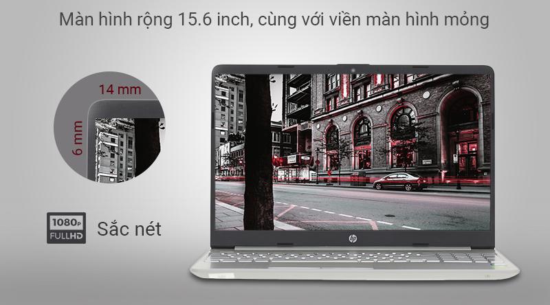 Laptop HP 15s du0072TX với viền màn hình mỏng