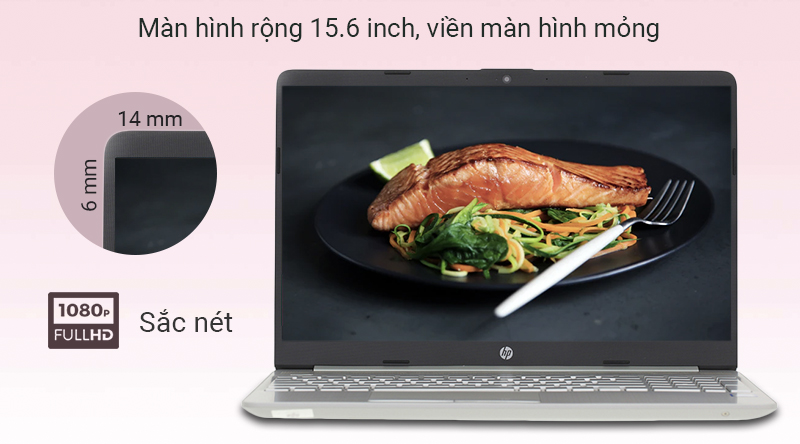 Laptop HP 15s du0116TU i3 màn hình 15.6 inch siêu rộng