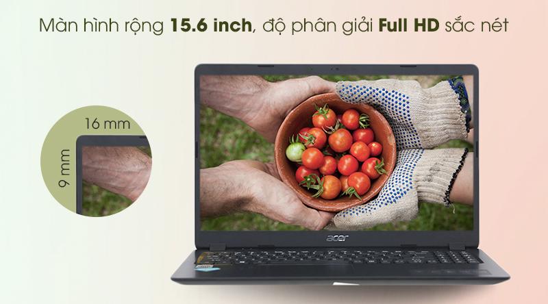 Laptop Acer Aspire A315 i5 (NX.HM2SV.002) - Màn hình 15.6 inch độ phân giải Full HD