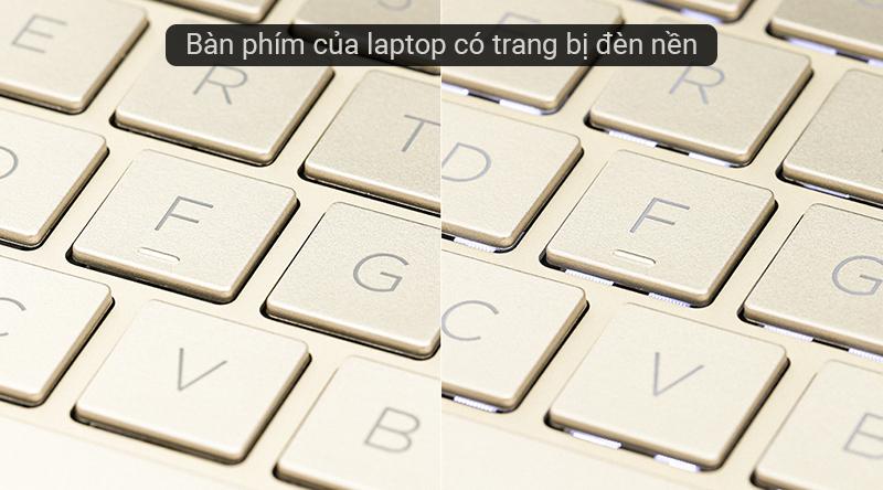 Laptop HP Envy 13 aq1022TU i5 trang bị đèn nền bàn phím