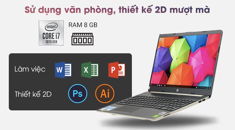 HP 15s du1039TX được cài sẵn Windown 10