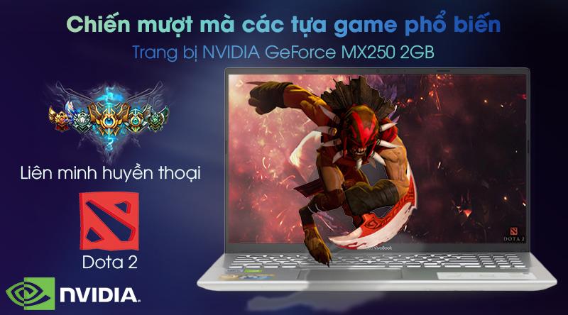 NVIDIA GeForce MX250 2GB được trang bị