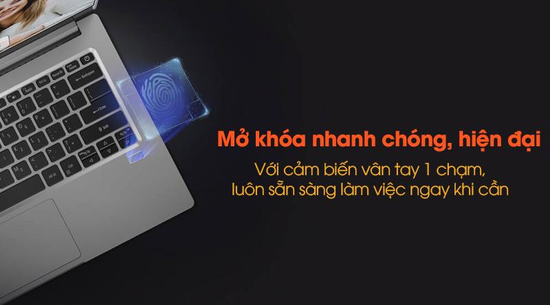 Laptop Acer Swift 3 SF314 57 52GB i5 bảo mật vân tay