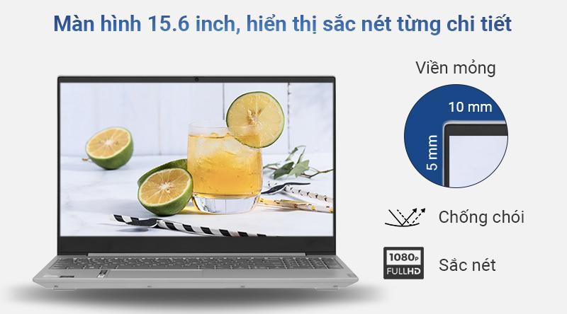 Kích thước 15.6 inch và độ phân giải Full HD