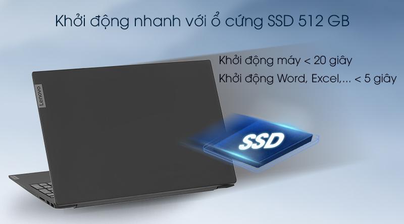 Lenovo IdeaPad S340 mất chưa đến 20 giây để khởi động