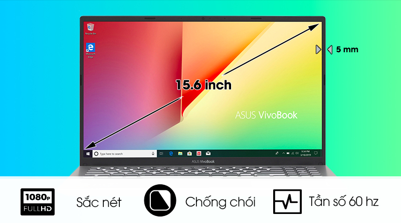 Màn hình Asus VivoBook A512FA