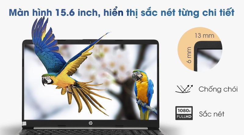 Laptop 15.6 inch mang lại cảm giác gọn gàng như chỉ có 14 inch.