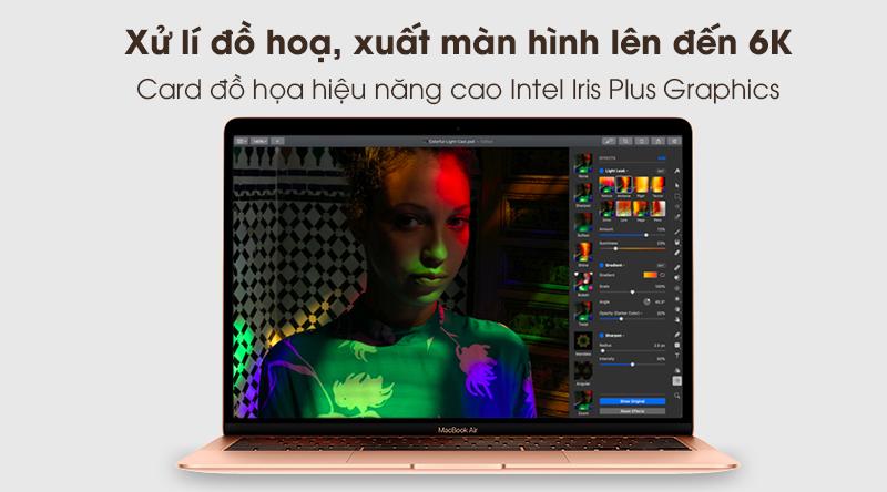 MacBook Air 2020 | Card đồ họa tích hợp Intel Iris Plus