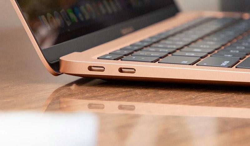 Apple Macbook Air 2020 i5 | Kết nối thunderbolt 3