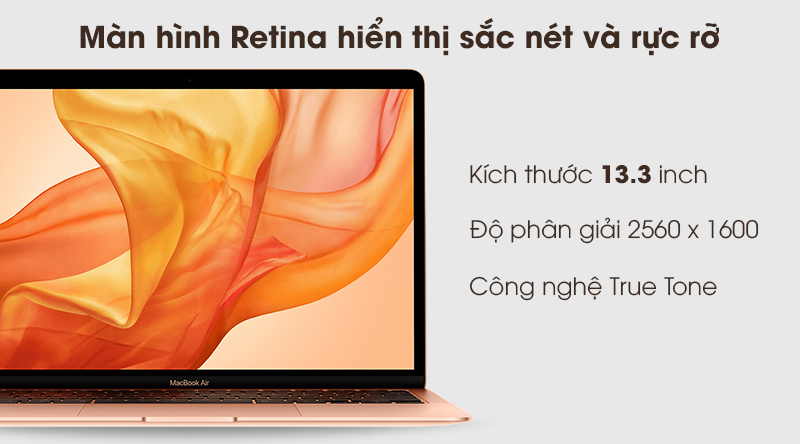 MacBook Air 2020 | Công nghệ True Tone