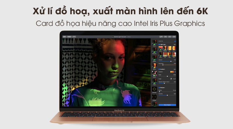 MacBook Air 2020 i3 | Intel Iris Plus