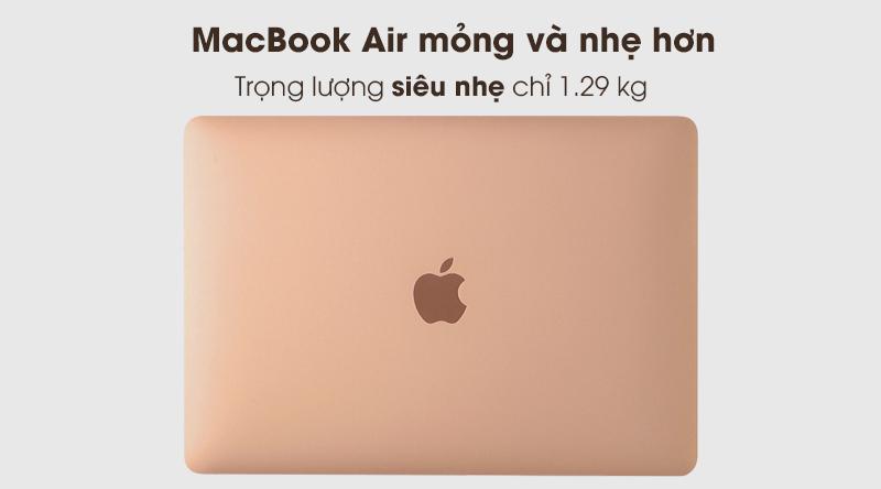 MacBook Air 2020 i3 | Máy có trọng lượng 1.29 kg