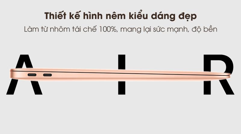 MacBook Air 2020 i3 | Thiết kế sang trọng