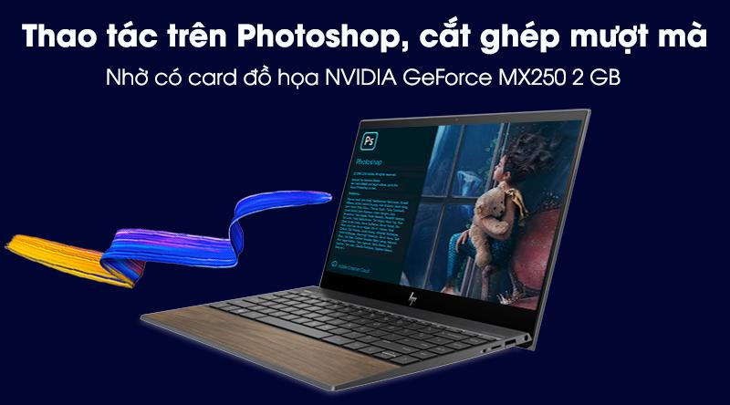 Laptop HP Envy 13 aq1057TX i7 | Card đồ họa rời NVIDIA GeForce MX250