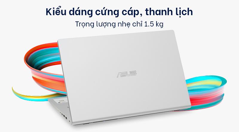 Laptop ASUS VivoBook X409JA i3 (EK015T) có thiết kế gọn nhẹ