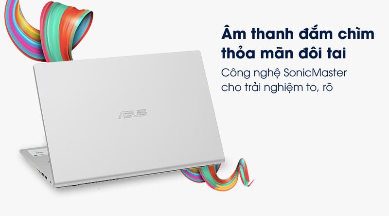 Laptop Asus VivoBook X509FA có các bộ khuếch đại và loa công suất lớn