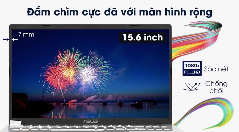 Laptop Asus VivoBook X509FA  cho trải nghiệm nhìn tuyệt vời