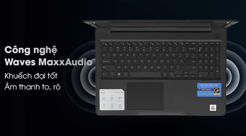 Laptop Dell Vostro 3590 i7  tinh chỉnh âm thanh to rõ
